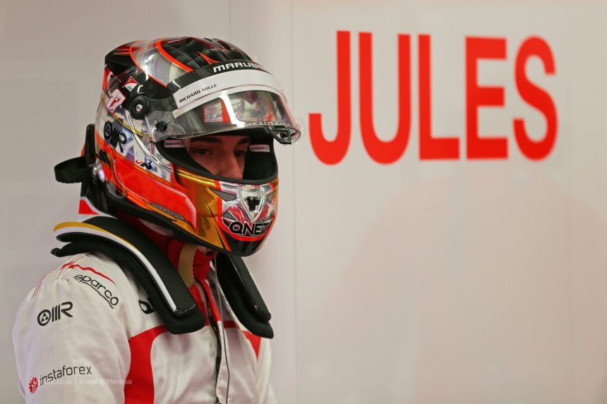 Jules Bianchi (FRA) Marussia F1 Team. 31.01.2014. Formula One Testing, Day Four, Jerez, Spain.